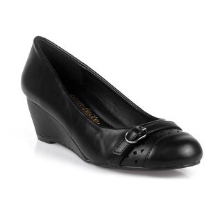 Comfeite Findland-02 Comfort Women's Mini Wedge Pump