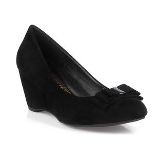 Comfeite Haiti-02 Comfort Women's Mini Wedge Pump