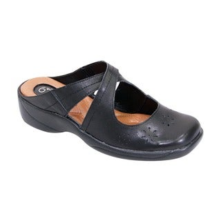 Fic Peerage Women's Extra Wide Width Casey Clogs (More options available)