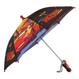 Disney 'Cars' Lightning Mcqueen Boys' Red/Black Umbrella