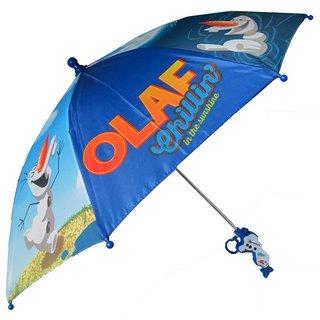 Disney 'Frozen' Olaf Blue Polyester Umbrella