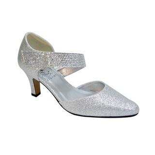 FIC Floral Women's Sarah Multicolored Polyurethane Wide-width Heels