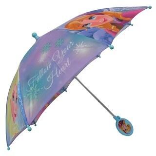 Disney 'Frozen' Anna Elsa 3-D Handle Umbrella