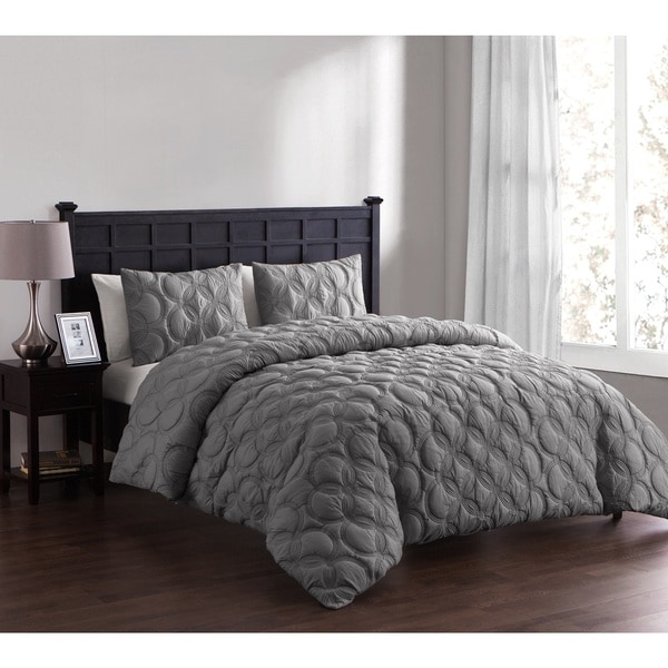 VCNY Atoll Embossed 2 & 3 Piece Duvet Set