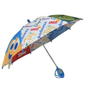 Disney Pixar 'Inside Out' Multicolor Polyester Umbrella