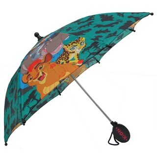 Disney The Lion Guard Boys' 3D Handle Polyester Umbrella