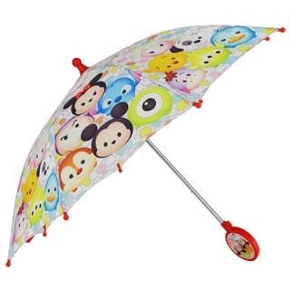 Disney Tsum Tsum Multicolor Polyester 3-D Handle Umbrella
