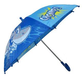 Boy's 'Shark in the Sea' Blue Umbrella