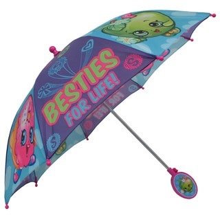 Shopkins Apple Blossom and D'lish Donut Girls' Polyester Umbrella