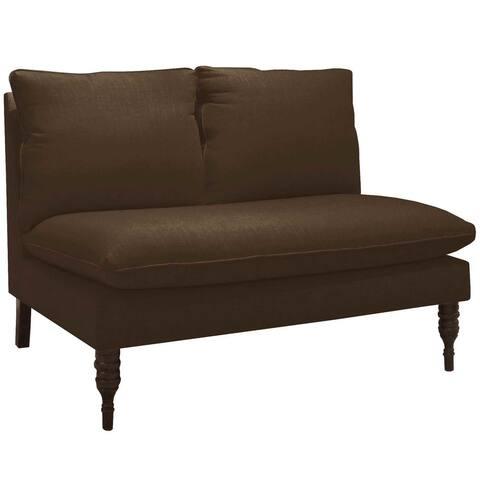 Skyline Furniture Custom Love Seat in Twill