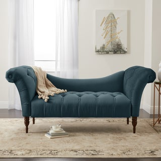 Skyline Furniture Custom Micro-suede Settee