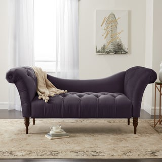 Skyline Furniture Custom Settee in Velvet