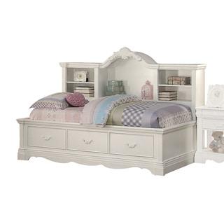 Acme Furniture Estrella White Daybed with Storage