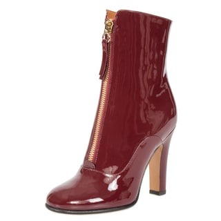 Valentino Women's Patent Leather Ankle Boots