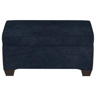 Skyline Furniture Microsuede Custom Bench