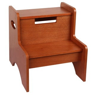 Levels of Discovery Maple Finish Two-step Stool
