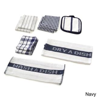 Home Basics Utility 17-piece Kitchen/ Dish Towel Set