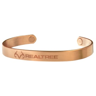 Sabona Realtree Brushed Copper Magnetic Wristband