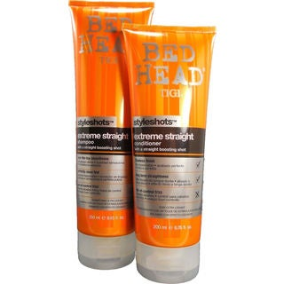 Tigi Bed Head Extreme Straight 6.76-ounce Shampoo and Conditioner Duo