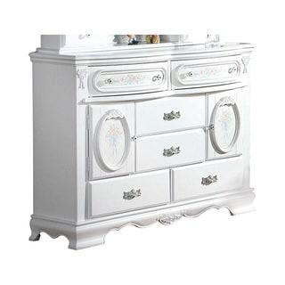 Acme Furniture Flora White 6-drawer Dresser
