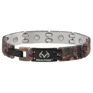 Sabona Realtree Camouflage and Black Sport Magnetic Bracelet