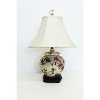 Esther Vine Porcelain Round Table Lamp