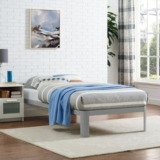 Gray Corinne Bed Frame