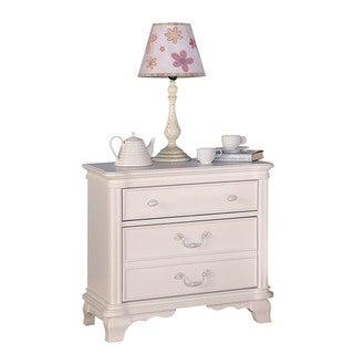 Acme Furniture Ira White Veneer 3-drawer Nightstand