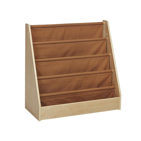 Offex 1-Sided Display Book Storage - Fabric