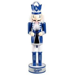MLB Los Angeles Dodgers 14-inch Collectible Nutcracker|https://ak1.ostkcdn.com/images/products/13817726/P20465063.jpg?impolicy=medium