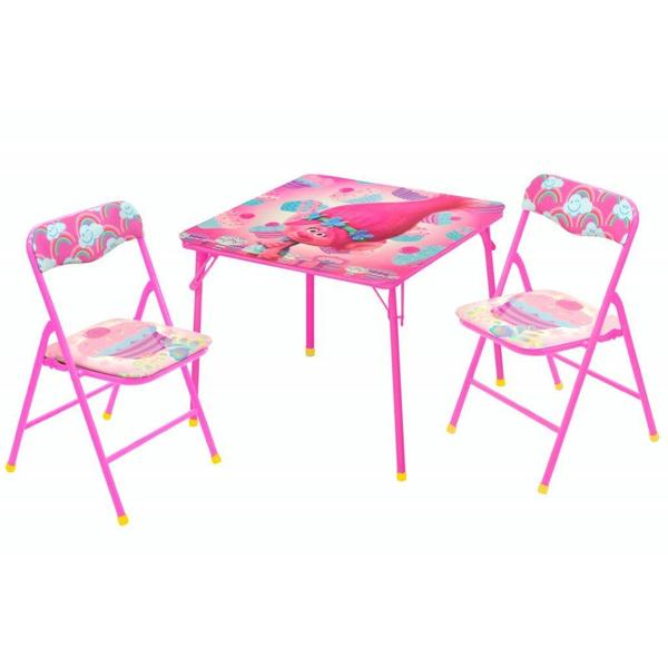 Shop Trolls 3 Piece Table And Chair Set Overstock 13817729