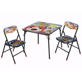 Yo Kai 3 Piece Table and Chair Set