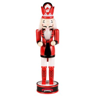 NCAA Wisconsin Badgers 14-inch Collectible Nutcracker