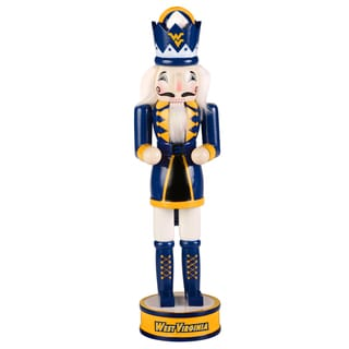 NCAA West Virginia Mountaineers 14-inch Collectible Nutcracker