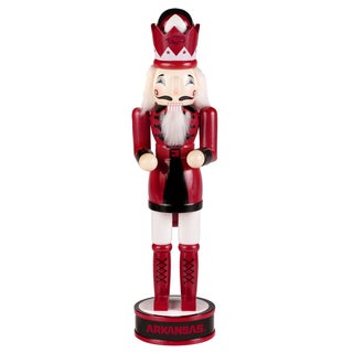 NCAA Arkansas Razorbacks 14-inch Collectible Nutcracker