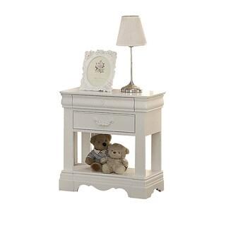 Acme Furniture Estrella White Nightstand