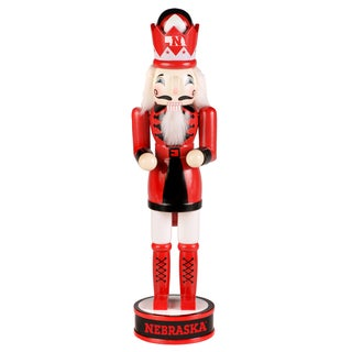 NCAA Nebraska Cornhuskers 14-inch Collectible Nutcracker