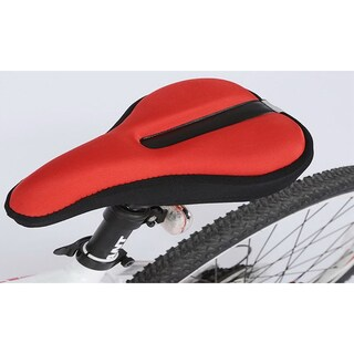 Lycra and Gel Padding Bicycle Seat Saddle Cushion Cover