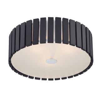 Lite Source 3-Light Maxwell Flush Mount