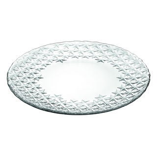 Majestic Gifts Quality Clear 13.75-inches Diameter Glass Plate