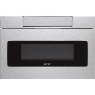 "Sharp Insight/SMD3070AS Stainless Steel 30"" Flat Panel Microwave Drawer, 1.2 cu.ft. 1000W, Sensor, LCD Display"