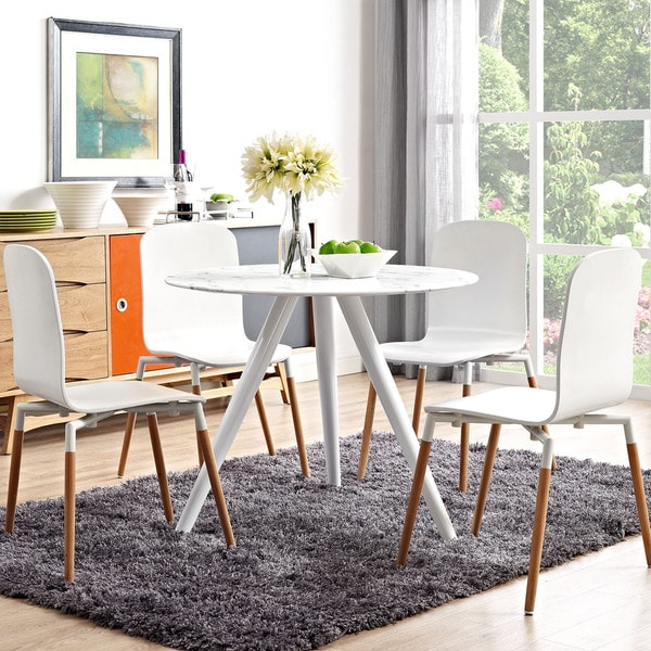 Shop Lippa 36 Quot Artificial Marble Dining Table Free
