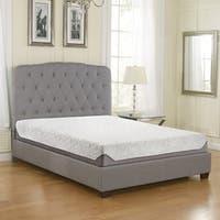 Sleep Sync 8-inch TXL-size Air-Flow Gel Memory Foam Mattress