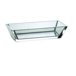Majestic Gifts Clear Glass 5.1-inch x 2.4-inch Rectangular Individual Bowl (Pack of 6)