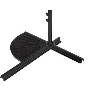 Trademark Innovations Black Resin 26-pound Umbrella Base Weight