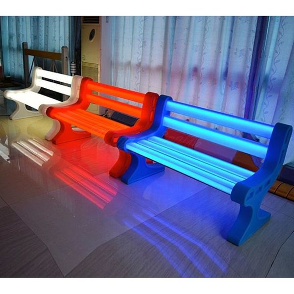 Shop Contempo Lights LED Garden Bench