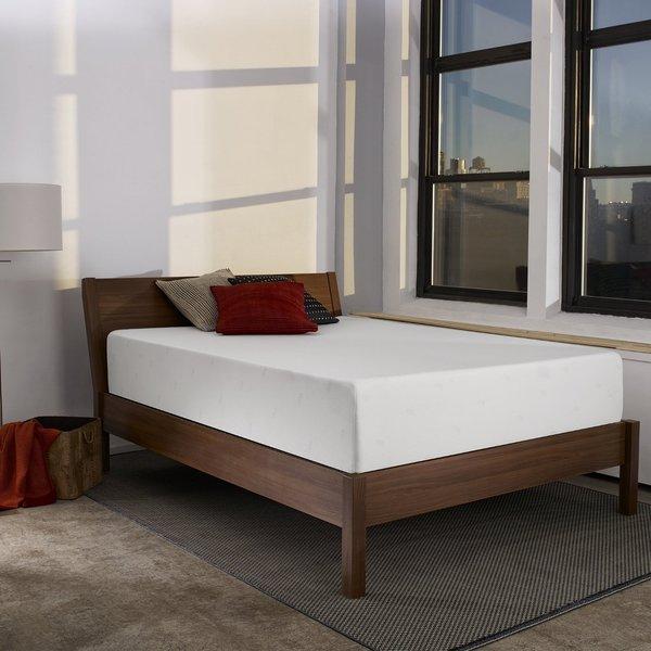 Shop Sleep Innovations Shiloh 12 Inch King Memory Foam Mattress