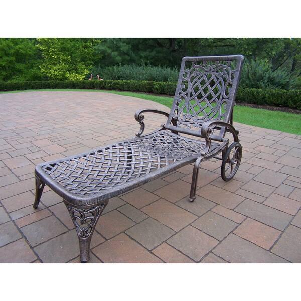 Cast Aluminum Chaise Lounge
