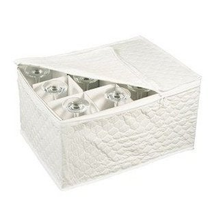 White Stemware Storage Set by Richards Homewares