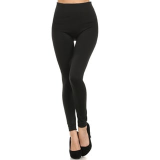 Women's One-size Solid Leggings